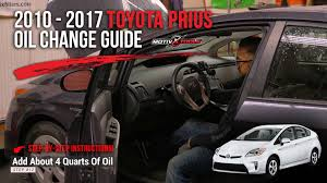 2010 Toyota Prius Oil Light Reset 2010 2017 Toyota Prius Oil Change Guide Motivx Tools