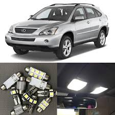 Lexus Rx330 Light Bulb Replacement Us 17 1 10 Off 19pcs White Canbus Car Led Light Bulbs Interior Side Marker Kit For 2004 2008 Lexus Rx330 Rx350 Rx400h Map Dome Trunk Lights In