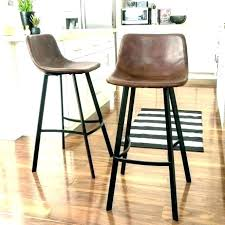 backless leather counter stools backless leather counter stools folio top grain leather backless counter stool reviews backless leather counter height