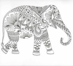 Small Picture Free Coloring Pages Elephants Printable Elephant Coloring Pages