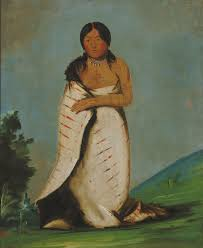 george catlin hee láh dee pure fountain wife of the smoke 1832 oil on canvas smithsonian american art museum gift of mrs joseph harrison jr