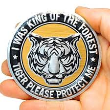 <b>3D Round</b> Sticker Decal (<b>Tiger</b>): Amazon.in: Car & Motorbike
