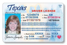 Texas Driver Texvet Veterans For Licenses