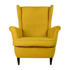 off ikea strandmon accent armchair chairs second hand yellow high back rattan blinds eames lounge chair vitra ideas for living room bean bag with