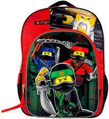 LEGO Backpack Movie - Ninjago Movie School Bag 175025: Amazon.co.uk:  Clothing