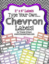 Avery Template 5163 Labels Chevron Editable 2x4 Avery 5163