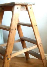wooden step ladder 2 step wooden ladder how to build a wooden step ladder two wooden step ladder