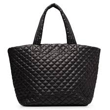 Large Metro Tote - Black Quilted Oxford   MZ Wallace & Large Metro Tote Adamdwight.com