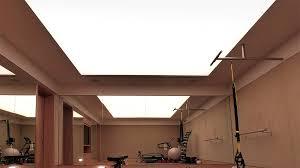 illuminated stretch fabric ceiling