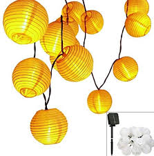 Solar LED Lanterns <b>String</b> Lights, LUXONIC 13.2Ft <b>4M 20 LED</b> ...