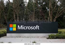 microsoft office redmond wa. a logo sign outside the headquarters campus of microsoft in redmond washington stock office wa