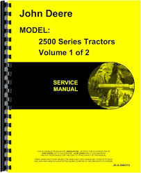 john deere 2510 tractor service manual john deere 2510 tractor service manual htjd ssm2070