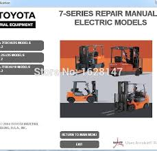toyota 7 series fork lift wiring diagram wiring diagram info forklift 7 series repair manuals for toyota u2013 forklift parts and
