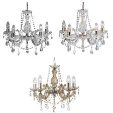 marco tielle marie therese five light chandeliers chrome brass mink