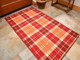 small large orange red long hall runner ktchen floor rugs machine washable kitchen rugs uk decorative