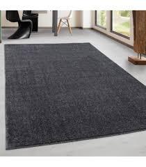 Teppich Kurzflor Modern Wohnzimmer Einfarbig Meliert Uni Versch Farben Farbe Grau Größe 160x230 Cm Muster Einfarbig Farbe Multi Florhöhe