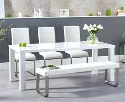 white bench seat storage best wood ideas window kitchen gorgeous high gloss dining table with chairs