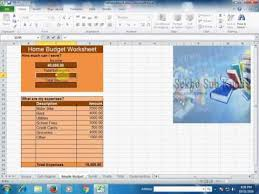 How To Make A Home Budget In Excel Urdu Hindi Youtube
