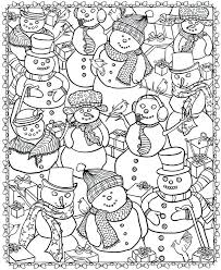Printable Christmas Coloring Sheets For Adults