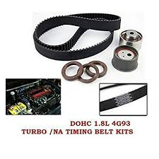 Amazon.com: OEM Timing Belt Kit ~ Mitsubishi Lancer CC Galant 4G93 ...