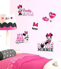 minnie mouse wall decor mouse wall decor medium pixels large modern kids bedroom with pink mouse minnie mouse