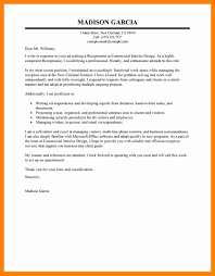 Executive Receptionist Cover Letter Media Violence Essay