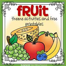 Fruit Theme Activities And Printables For Preschool And
