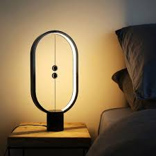 Led Table Lamp Intelligent Balance Lamp Led Night Light Usb Powered Home Decor Bedroom Office Desk Lamp Home Lighting Night Lamp
