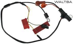 cheap toyota alternator wiring toyota alternator wiring get quotations · mustang alternator wiring harness w instrument 1972