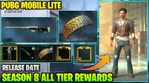 Pubg Mobile Lite Season 8 All Tier ...