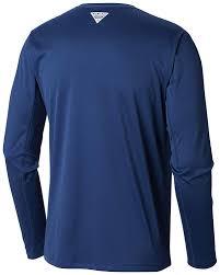 Columbia Mens Pfg Zero Rules L S Shirt