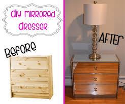 diy mirrored furniture. diy mirrored dresser tutorial diy furniture o