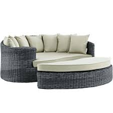 outdoor wicker patio furniture round canopy bed daybed. furniture sofa chaise lounge deck perectiona canopy outdoor patio daybed summon image 1 quest wicker round bed