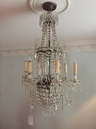 antique crystal chandelier louisiana hotel vintage one of a kind valued at 6000