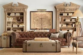 steampunk inspired furniture.  Inspired 10 Use An Old Steamer Trunk As A Living Room Table Inside Steampunk Inspired Furniture T