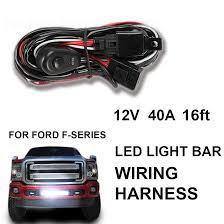 1x power switch relay wiring harness kit for led light bar offroad image is loading 1x power switch relay wiring harness kit for