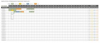 Employee Attendance Sheet In Excel For Office Free Human Resources Templates In Excel