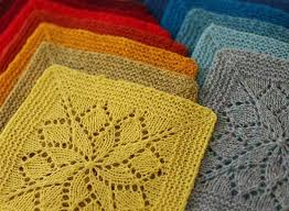 Mix and Match These Knitted Squares for Any Project & Vivid Knitting Blanket Pattern Adamdwight.com