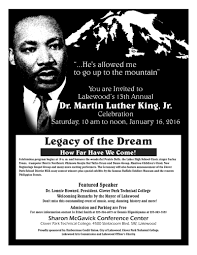 th annual dr martin luther king jr celebration