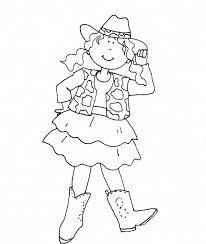 Cowgirl Cowgirl Coloring Pages Get On Lego Man In Cowboy Hat