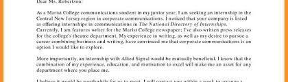 Motivation Letter For Internship Sample Fresh Cover Letter