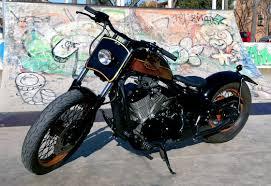 1995 vt600 bobber free kustom cycles bikermetric