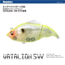 Lure Weight Chart Megabass Vatalion Sw Slow Sinking Chart Back Ghost