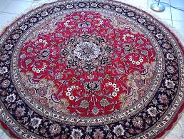 large round tabriz persian rugs carpets 1127