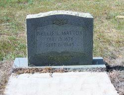 Nellie Lenora Patrick Mattox (1878-1945) - Find A Grave Memorial