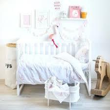 flamingo nursery set bedding baby crib by