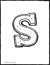 Chocolade Letter Sinterklaas Kiddicolour