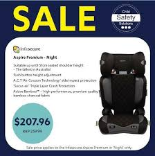 infasecure aspire premium 4 to 8 years 2016 standard car seats gumtree australia gold coast city labrador 1220186062