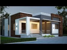 cute modern house design single floor
