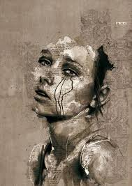 Florian Nicolle ~ Graphic designer and illustrator   Portraiture art,  Emotional art, Distortion art
